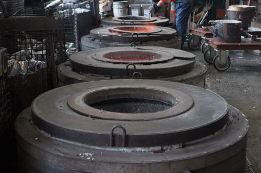 アルミ熔解炉